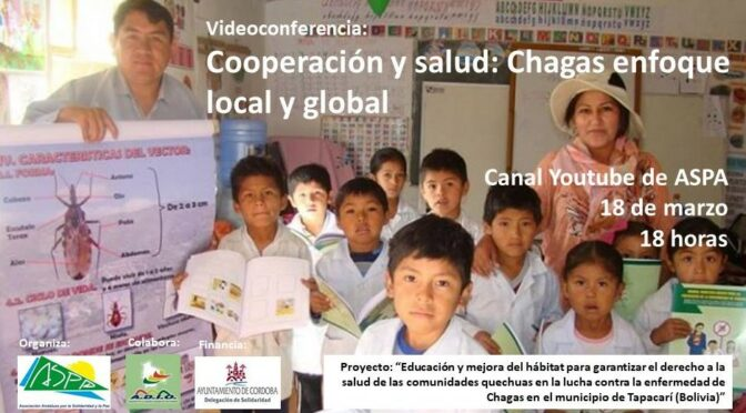 "Video conferencia ""Cooperación y salud: Chagas enfoque local y global"""
